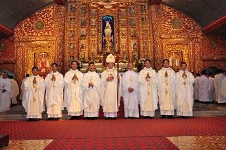 Thánh lễ truyền chức linh mục, 22-9-2016